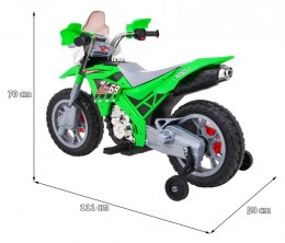 Motorek Cross Zielony